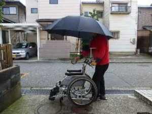 車椅子想定