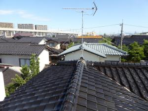 翌日 屋根の上チェックOK